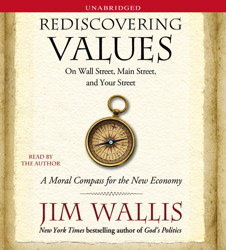Rediscovering Values, by Jim Wallis