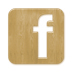 facebook icon cutting board