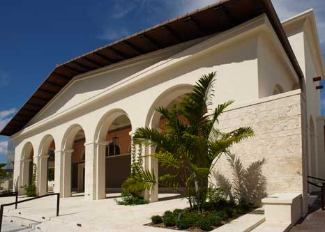 The Robert & Marian Fewell wing of the Coral Gables Museum