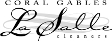 Coral Gables La Salle Cleaners logo