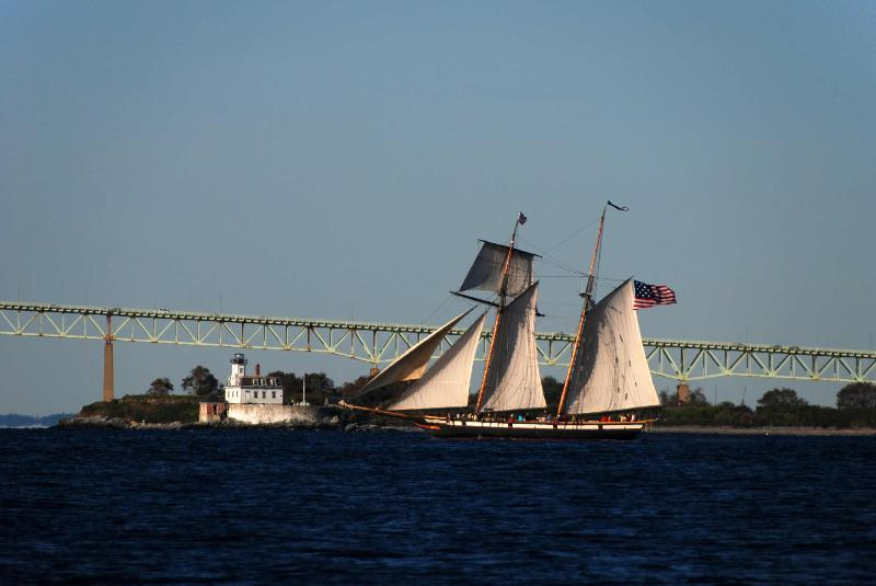 Tall Ship Lynx in Newport