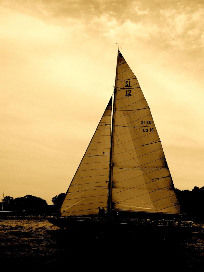 12 Meter Sunset Sails