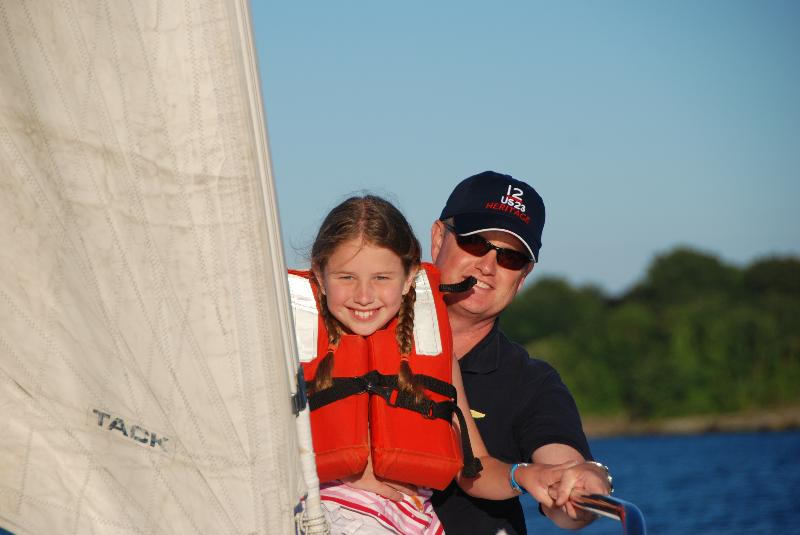 Family Fun Aboard Heritage