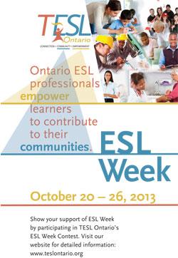 ESL Week Poster 2013