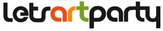 Lets Art Party logo