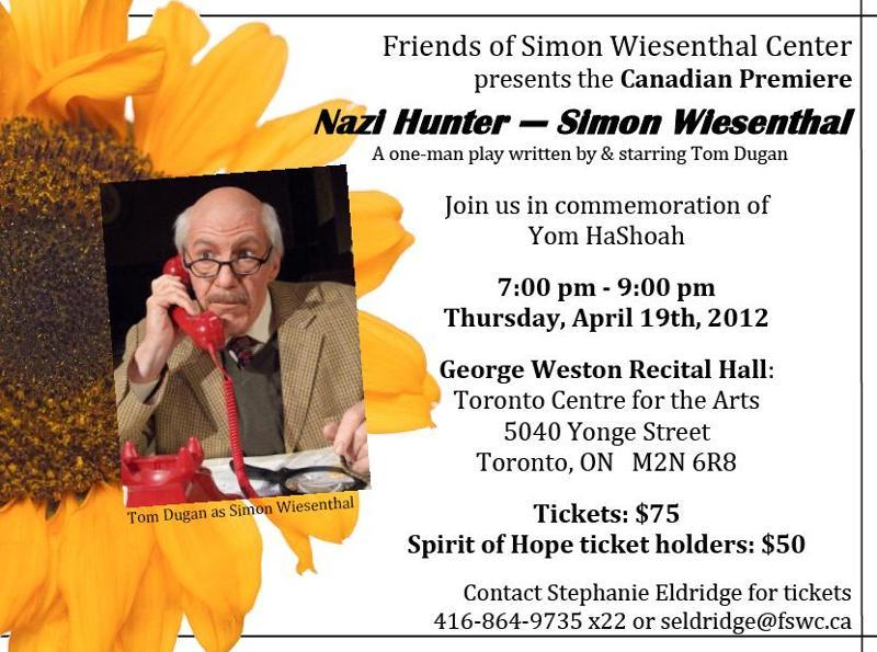Nazi Hunter-Simon Wiesenthal