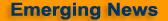 Emerging News blog logo