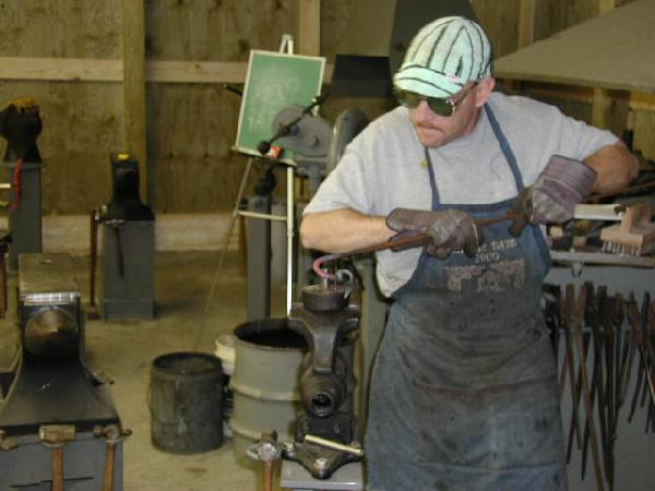 Working at the Scroll Jig