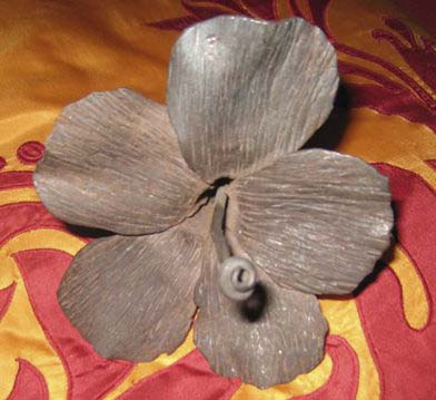Forged Hibiscus