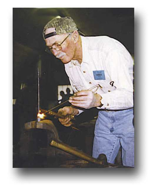 Vance Baker at work