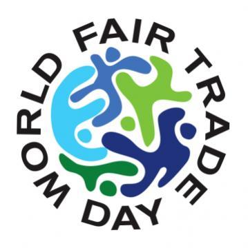 World  fair trade day logo