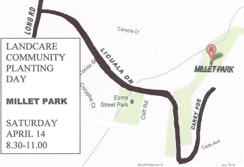 Millet Park Map reduced