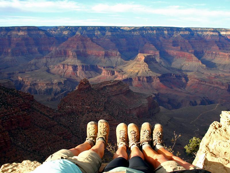 Boots Meet Grand Canyon