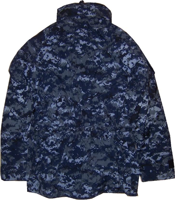 Navy Work Uniform (NWU) Gore-Tex® Parka