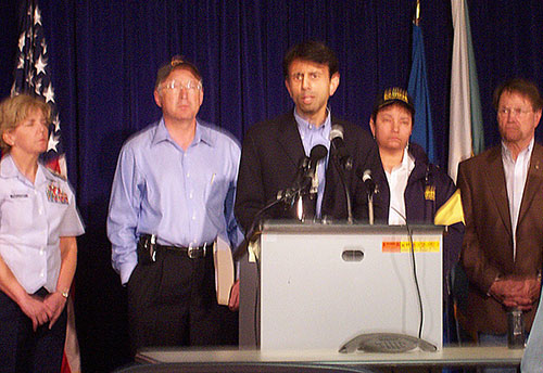 Oil Spill Press Conference April 30, 2010