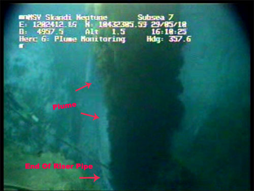 ROV Screen Capture form May 29 at  4:10p.m.