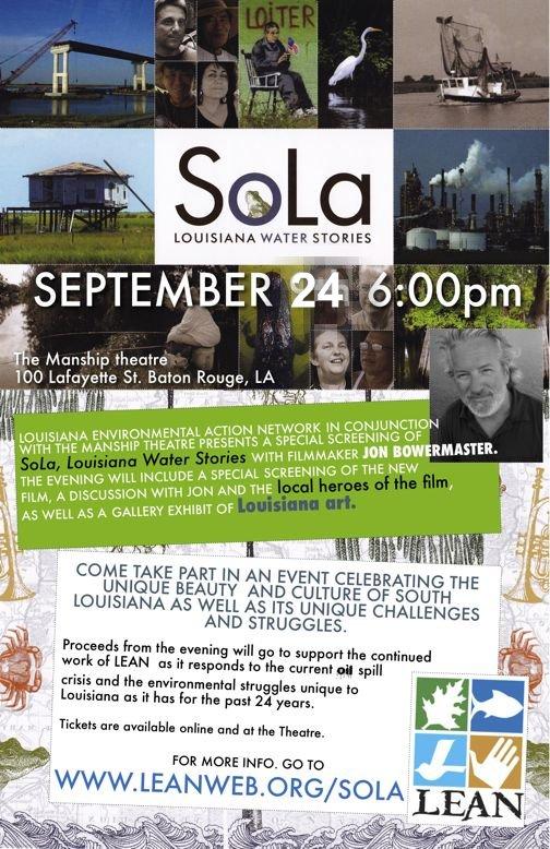 SOLA, Louisiana Water Stories