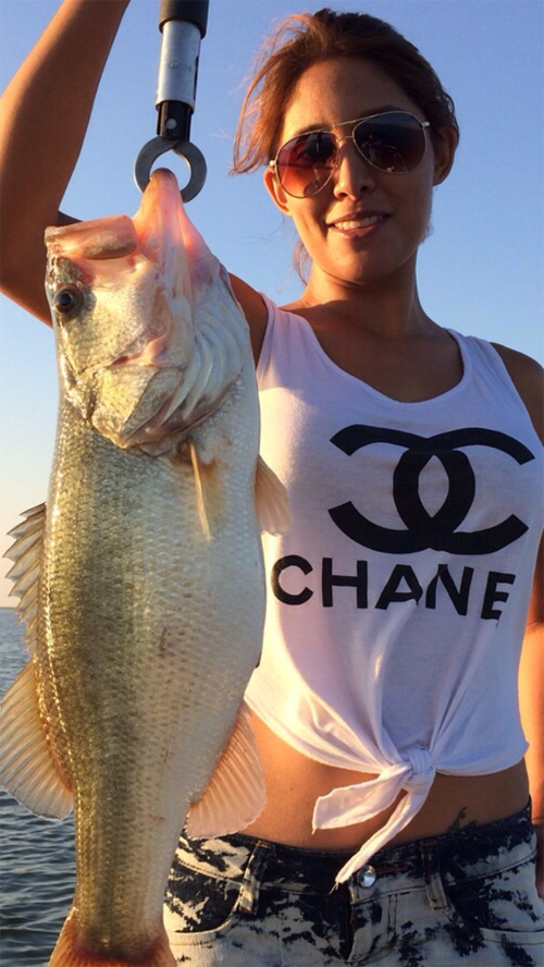 Didn't need a 5, New scent Chanel 5, Deets on 8-lb smallie ...