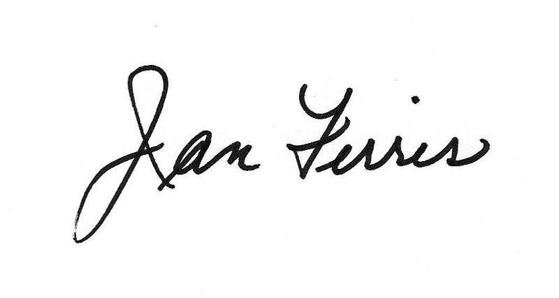Jan Ferris Signature