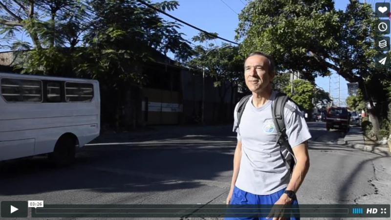 Walking to Work at Philippine Challenge