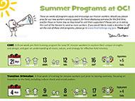 Summer Programs at OC