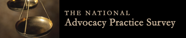 National Advocacy Practice Survey