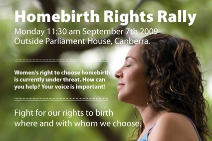 Homebirth Rally