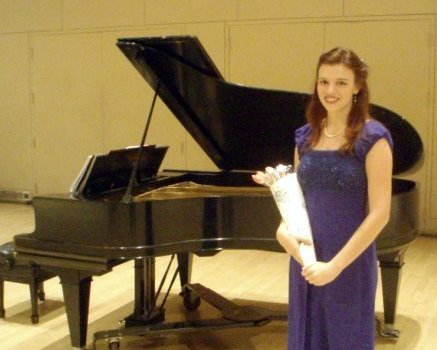 """Kate Patrick '09 at """"Wine, Women, and Song"""""""