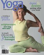 Shari Friedrichson Yoga International Cover