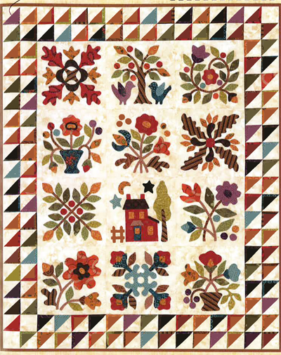 Traditional applique quilt patterns