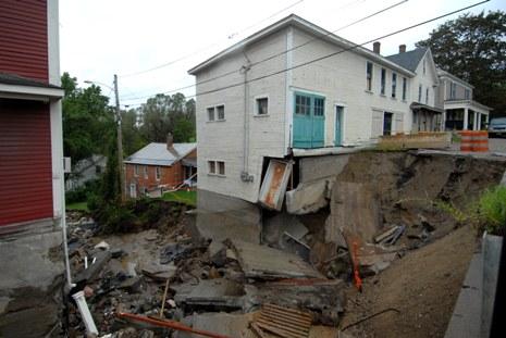 Flood 2011 Brandon Vermont