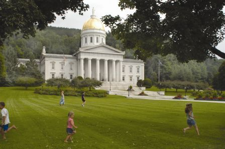 Vermont State House, Photo by Sanders H. Milens