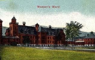 Historic Postcard of Waterbury Women's Ward