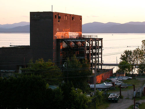 The Moran Plant in Burlington, VT.  Photo by Justin Henry