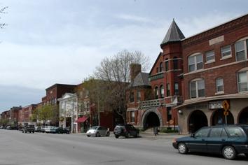 Downtown St. Albans, VT
