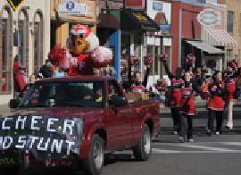 UWRF Homecoming Parade