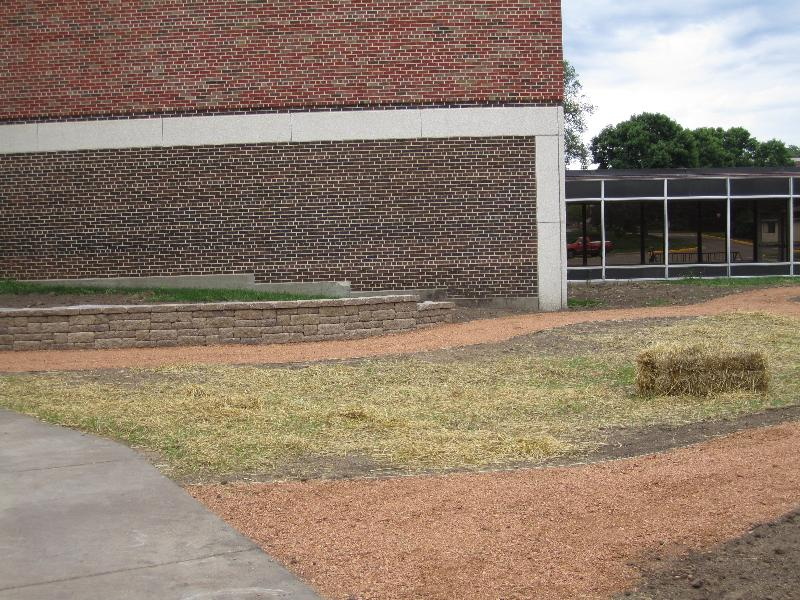 Centennial Courtyard, August 2012