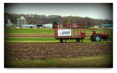 Centennial Wagon Sign at Mann Valley Farm