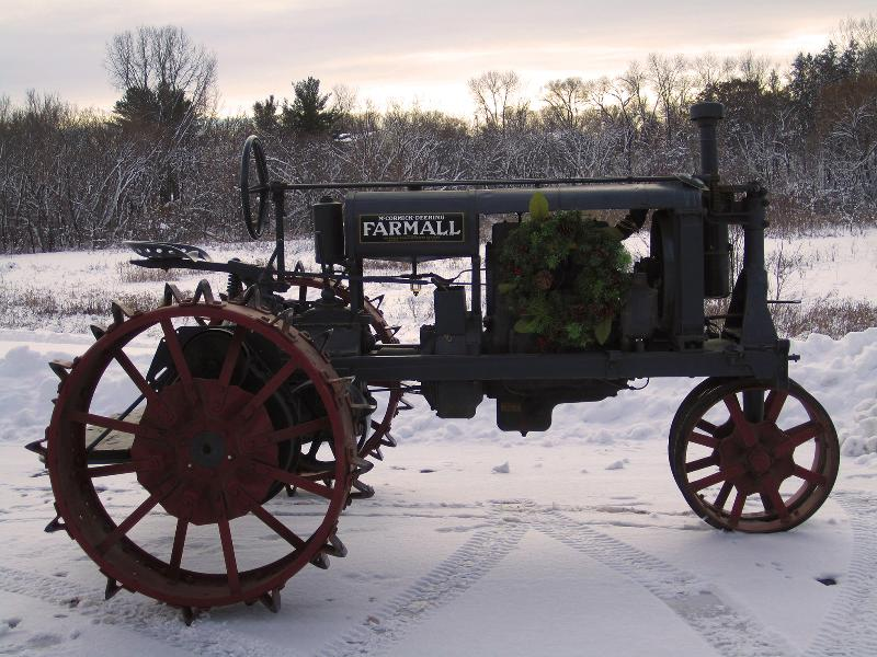 Centennial Christmas tactor