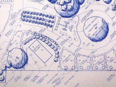 Preliminary Centennial Courtyard Sketch