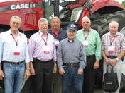 Members of the class of 1962 visit UWRF campus.