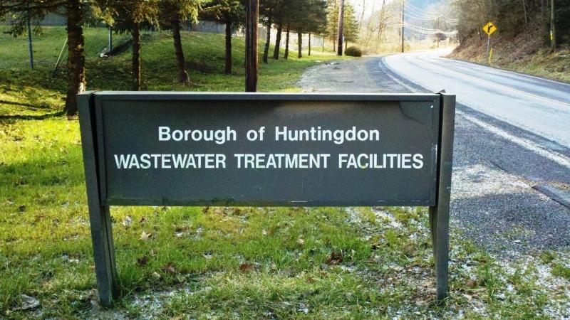 Huntingdon Borough Sign
