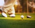 Photo of a golfer