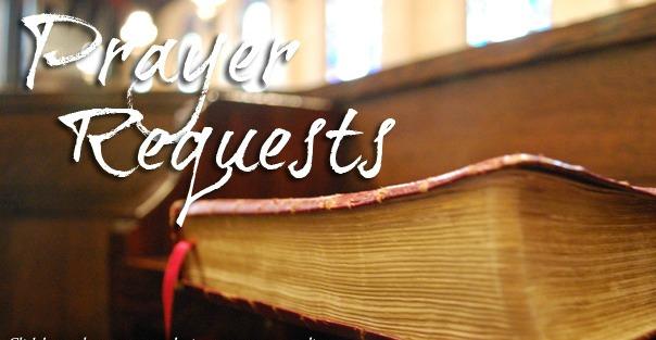 prayer requests 2013