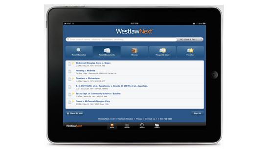 iPad Legal Research