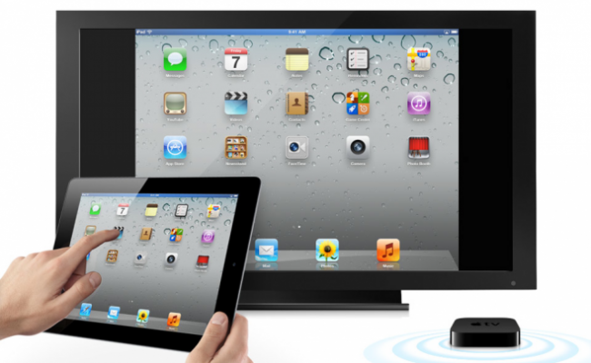 iPad and Apple TV