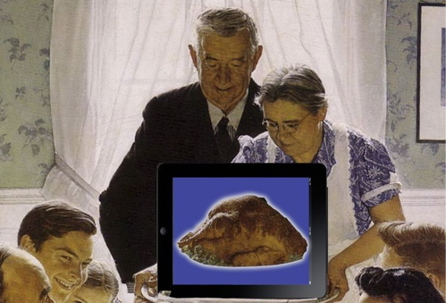 Tablet for Thanksgiving