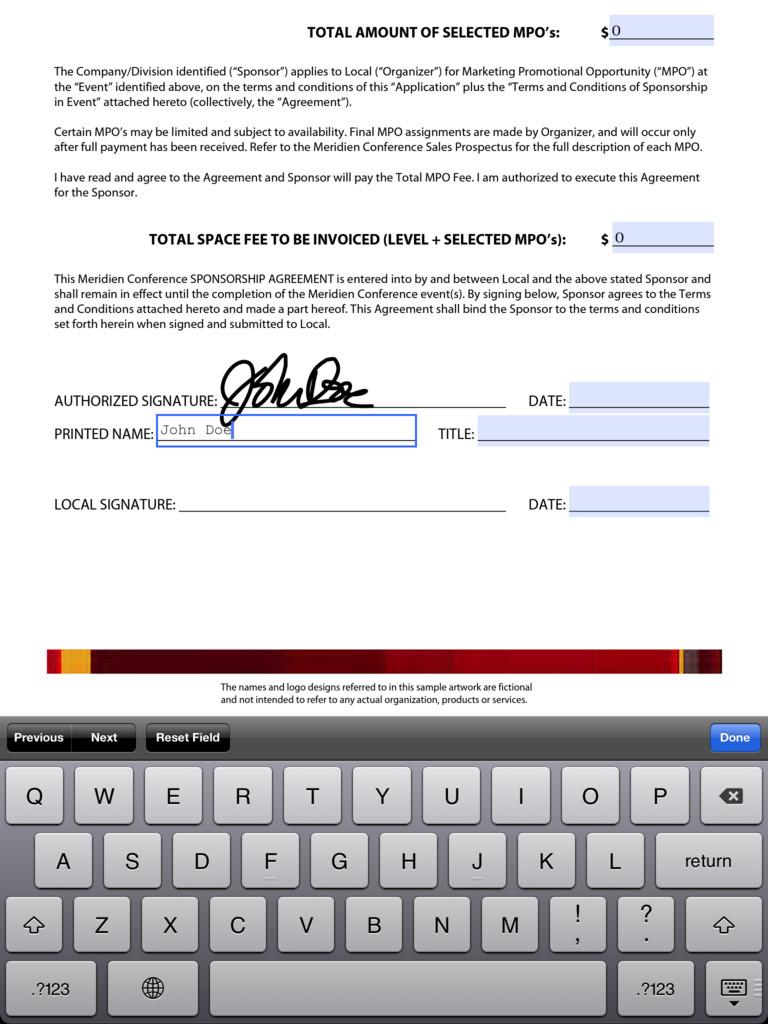 Adobe Reader for iPad
