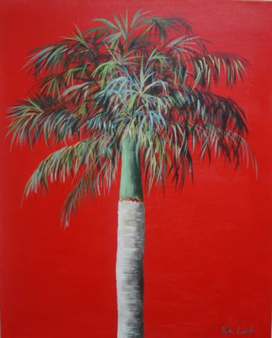 Red Royal Palm