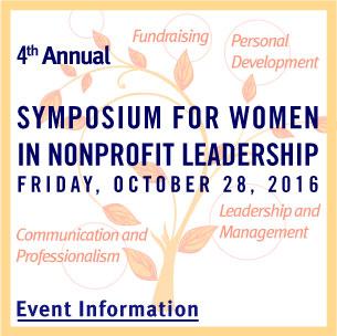 Symposium for Women in Nonprofit Leadership